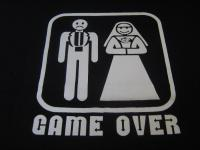 GAMEOVER Tシャツ